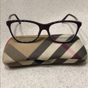 Burberry prescription frames